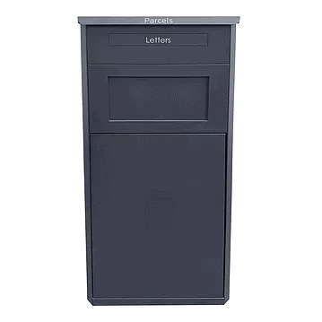 The large grey parcel drop box OLD