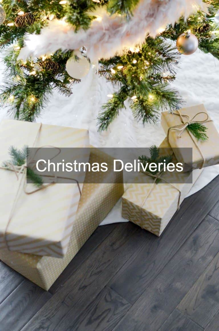 Just in Time for Christmas – Parcel Drop Box UK