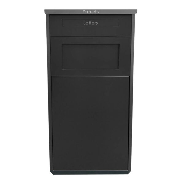The large parcel drop box in black